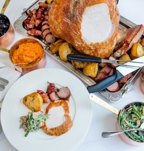 Celebrate Thanksgiving 2019 at 108 Brasserie and Town House, Kensington