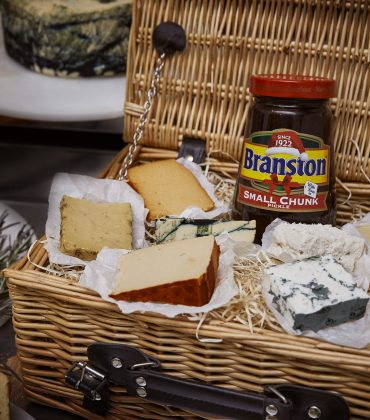 Vegan Cheesemas with Branston and La Fauxmagerie