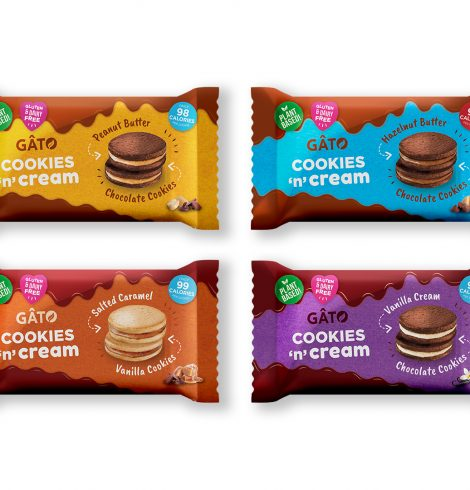 GATO & Co Launch Cookies N Cream Range to Boots