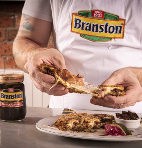 Break Your Resolutions in Epic Style with Branston's Broken Resolution Sandwich