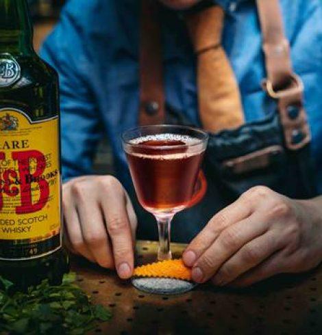 Burns Night: Celebrate with J&B Rare's Bobby Burns Cocktail