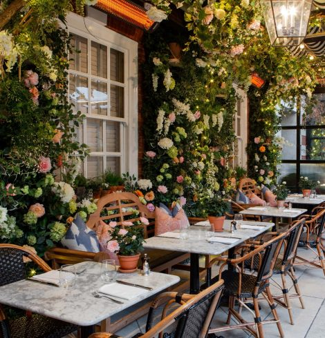 Dalloway Terrace Welcomes Spring as It Transforms into a Greenhouse