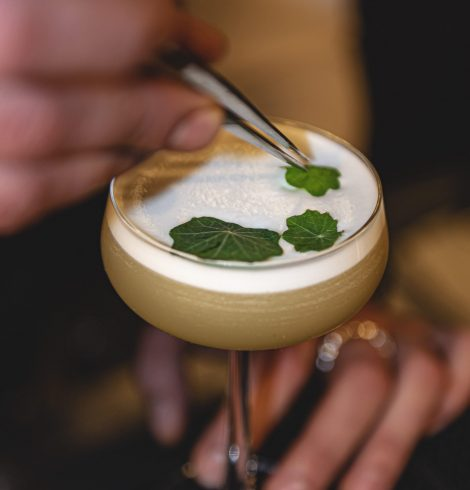 Dakota Leeds Launches New Cocktail Menu That's Literally a Work of Art