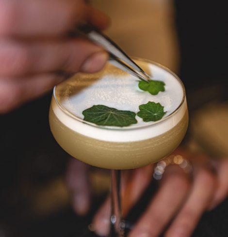 Dakota Leeds Launches New Cocktail Menu That's Literally a Work of Art