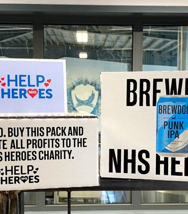 BrewDog Punk IPA pack with all profits being donated to Help NHS Heroes