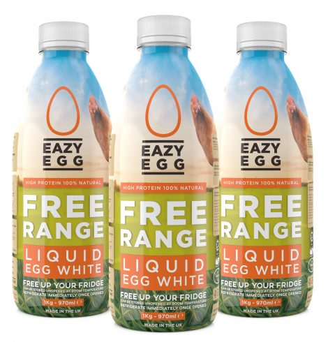 Eazy Egg Launches the First UK Made Free Range Egg White