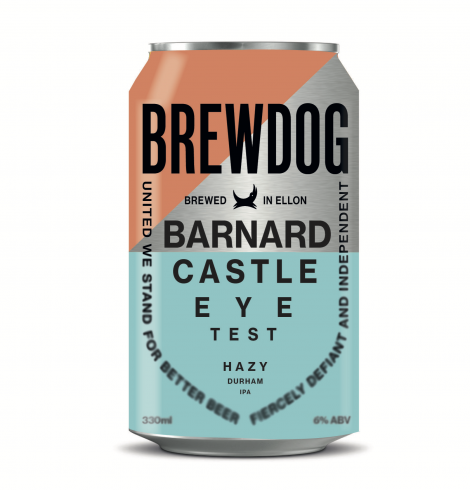 BrewDog Announces Launch of Barnard Castle Eye Test Hazy IPA