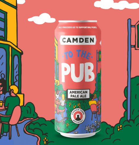 Camden Town Brewery Launch New Beer to Help Pubs
