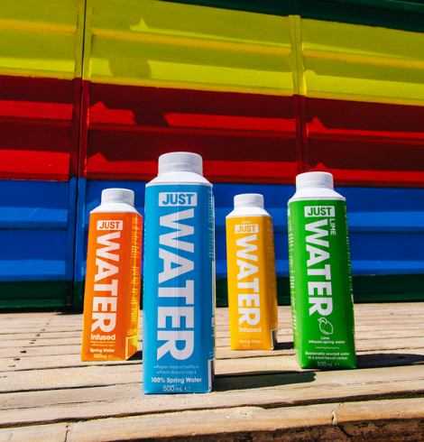New Product Launches from Sustainable Water Brand Just Water