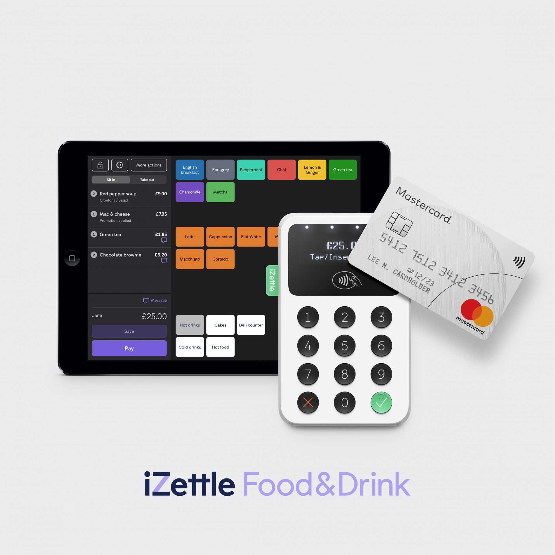 PayPal Launches iZettle Food & Drink