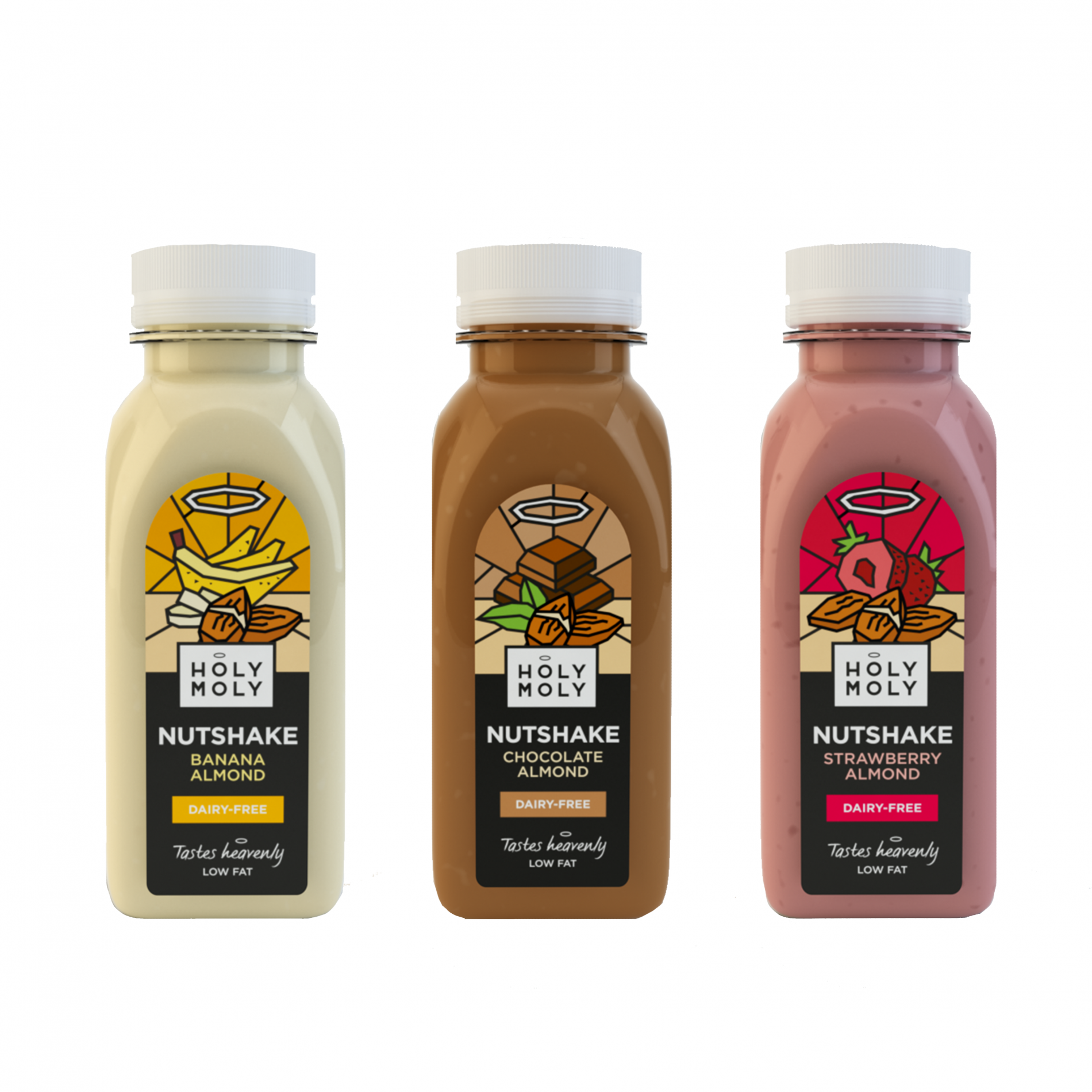 Holy Moly Launches Range of Cold-Pressed Nutshakes