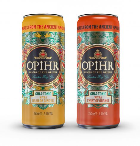 New Opihr Gin Duo Available at Tesco