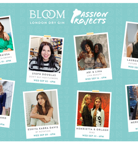 BLOOM Gin Offering £25K to Fund Women's Projects