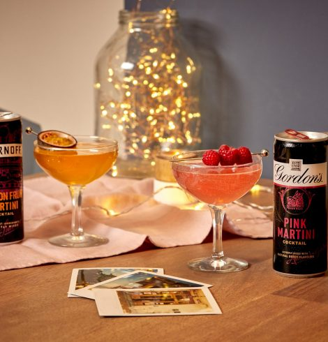 Brand New Martini Cocktail Cans from Gordon's & Smirnoff
