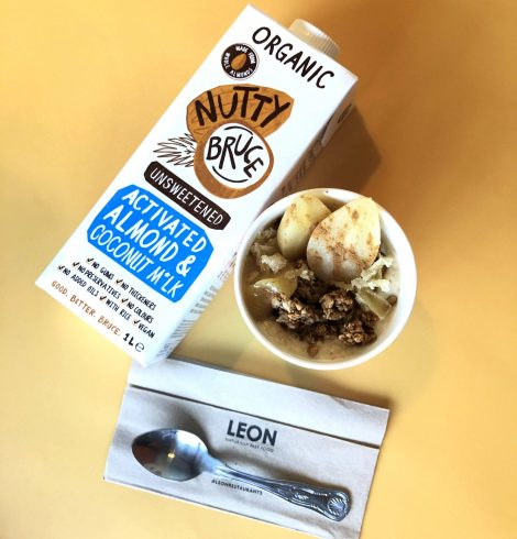 Nutty Bruce and LEON Launch First Porridge with Activated Almond M*lk on the High Street