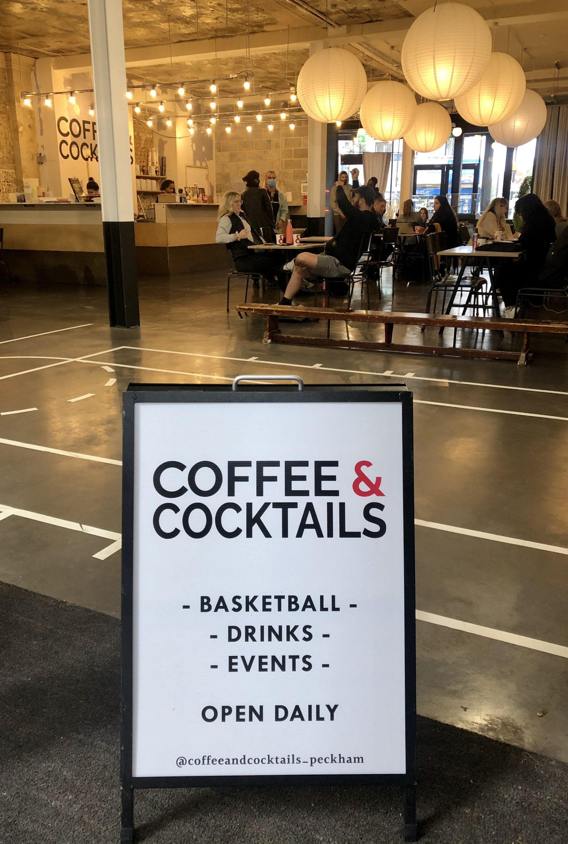 Coffee & Cocktails Celebrates Opening with Free Espresso Martinis