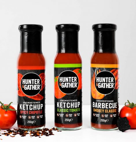 Hunter & Gather Launch 3 Unsweetened Keto Orientated Ketchups