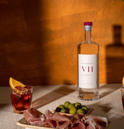 VII Hills Unveils New Bottle & Is First Spirit Brand in the UK to Become Blockchain Certified