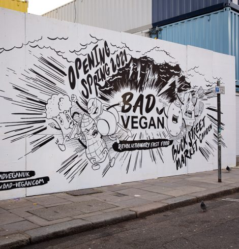 CAMDEN'S BUCK STREET MARKET CONTINUES TO GROW WITH  DEBUT SIGNING OF V-EDGY BRAND BAD VEGAN