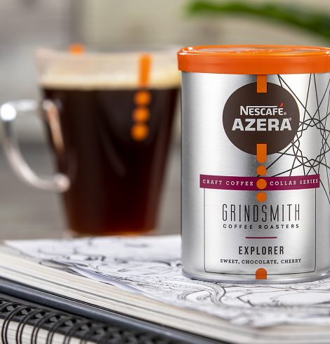 THE UK'S FIRST INSTANT CRAFT COFFEE  LAUNCHED BY NESCAFÉ AZERA IN PARTNERSHIP WITH GRINDSMITH COFFEE ROASTERS