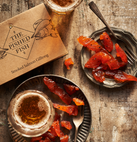GILLTONG – SUMPTUOUS SALMON JERKY FROM THE PISHED FISH GANG