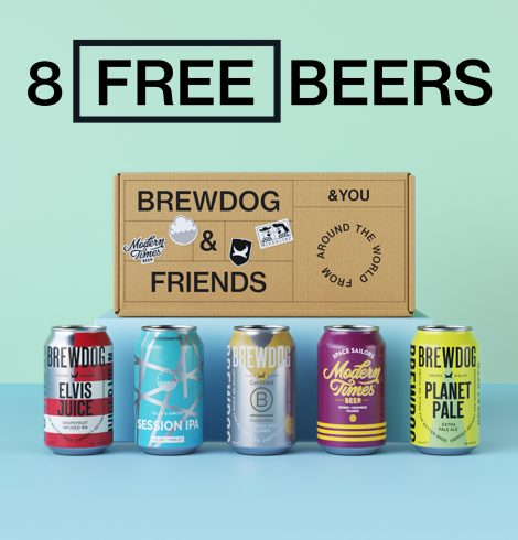 BREWDOG LAUNCHES WORLD'S FIRST CARBON NEGATIVE BEER CLUB, AND THEY'RE GIVING AWAY THE FIRST BOX FOR FREE!