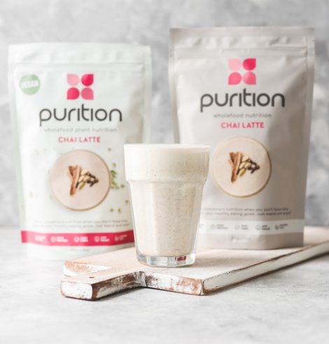 Enjoy An Early Indian Summer With Purition's Highly Spiced YET Heat-free Wholefood Shake