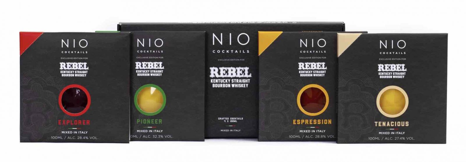 NIO Cocktails Launches Limited-Edition Rebel Bourbon Whiskey Cocktail Collection for Father's Day