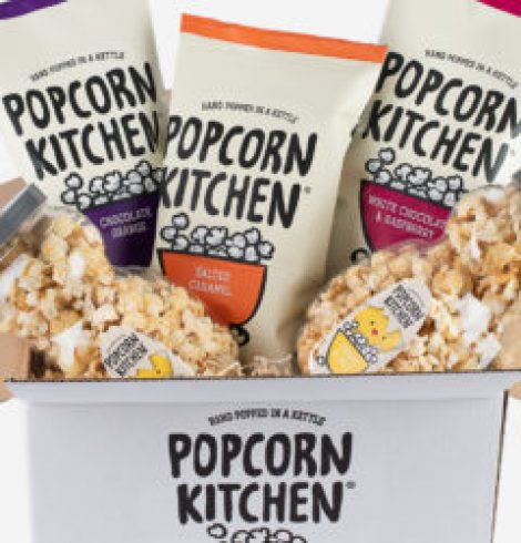 POPCORN KITCHEN LIMBERS UP FOR EXHIBITION SEASON WITH A NEW RANGE OF INDULGENT FLAVOURS