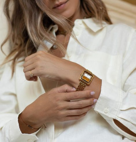 Female-led brand VANNA unveils first watch collection with Alana Hadid