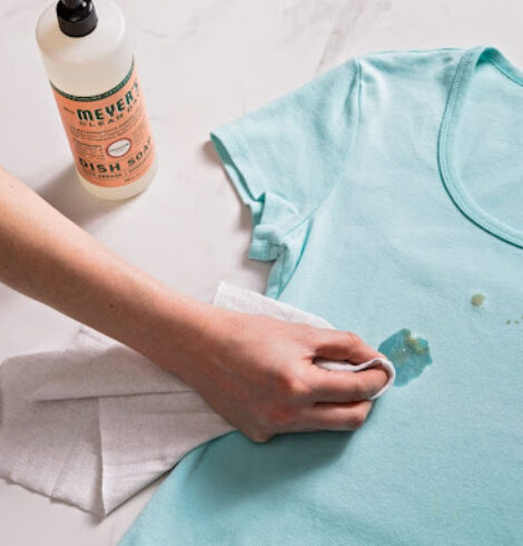 How to Get Rid of Different Types of Stains from Clothes